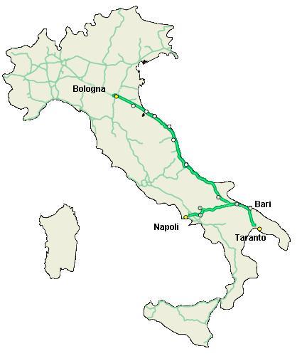 Rete Autostradale Italiana Cartina.Perche Al Sud Ci Sono Meno Autostrade Che Al Nord