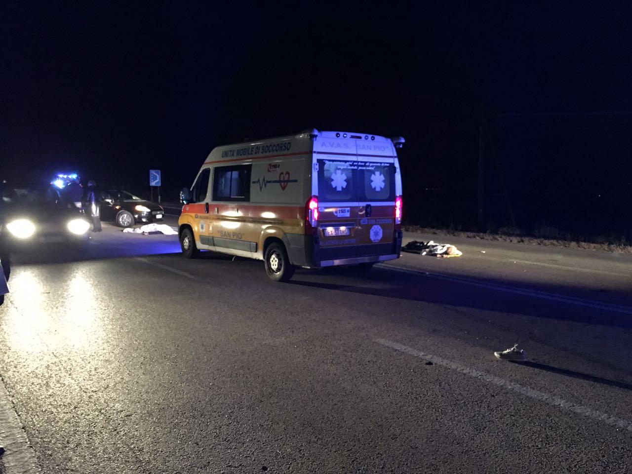 Incidente mortale a Manfredonia: coniugi travolti e uccisi all'uscita dell'abbazia San Leonardo