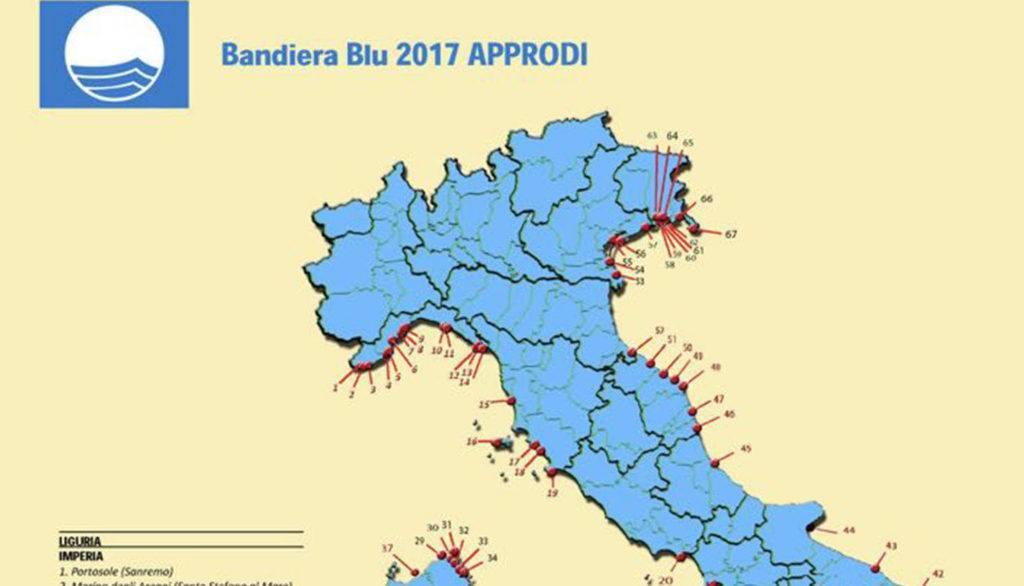 Bandiere blu sul Gargano: bocciate le spiagge, promosso il porto turistico di Manfredonia