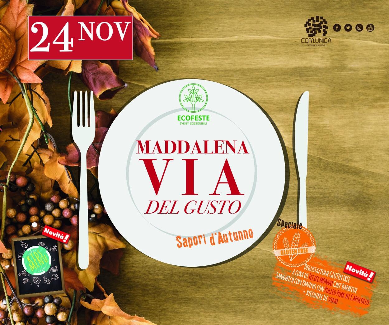 Maddalena via del gusto (24 Novembre) - 300x250