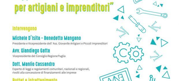 Manfredonianews notizie e news manfredonia e capitanata for Piccoli piani artistici per artigiani