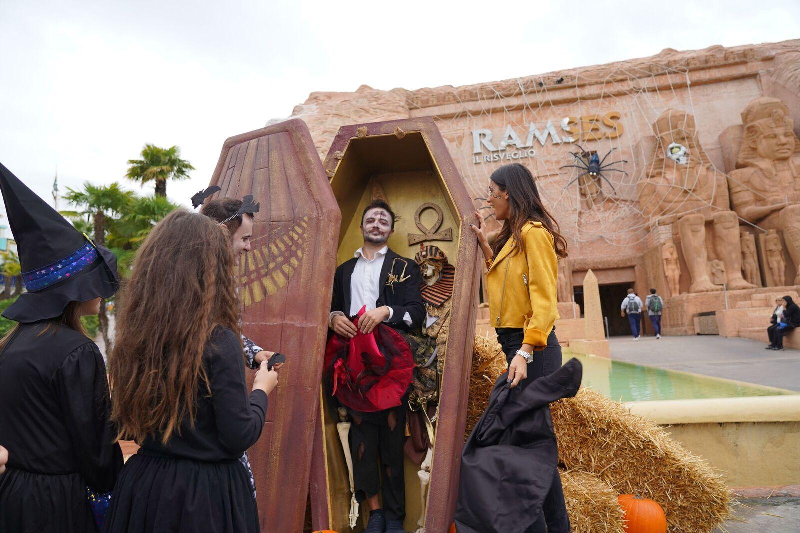 Halloween A Gardaland.Gardaland Halloween Party Del 31 Ottobre Apre L Ultimo Weekend Di
