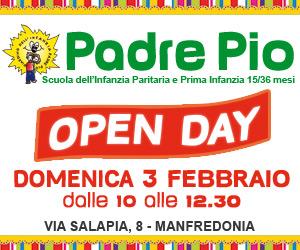 Asilo Padre Pio - Ancora aperte iscrizioni 15/36 mesi 2019 (300x250)