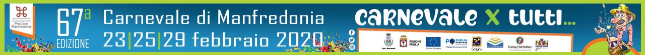 Carnevale di Manfredonia 2020 - Proloco (Top Banner)