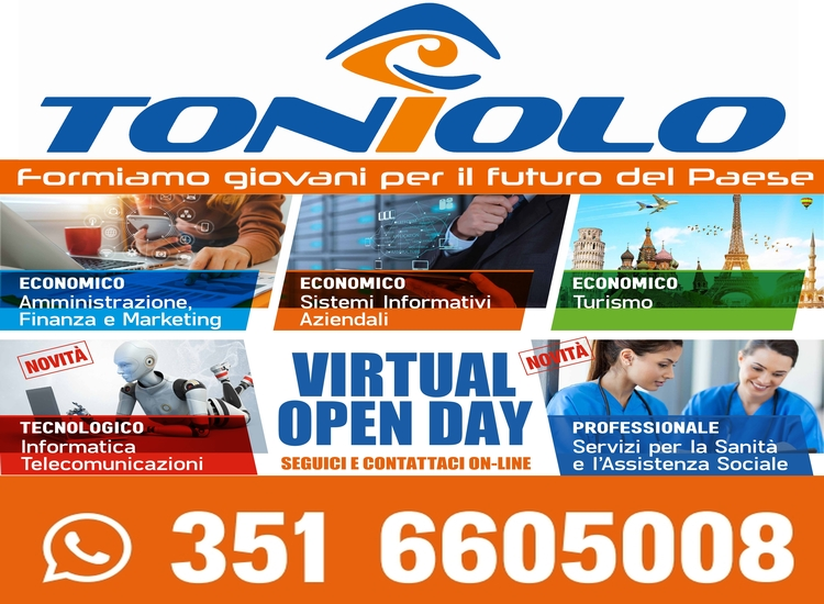 Toniolo - Virtual Open Day